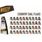Waszp Sail Country Greece Flag